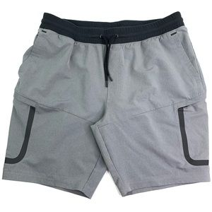 Under Armour Men Fitted Adjustable Athletic Shorts